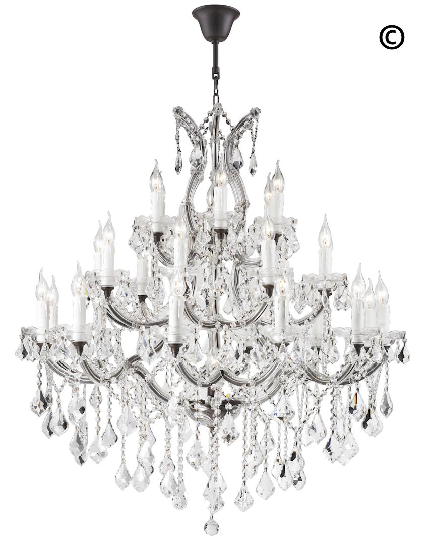 Maria Theresa Crystal Chandelier Grande 28 Light.
