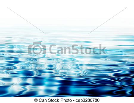 Stock Illustration of crystal clear water ripples.