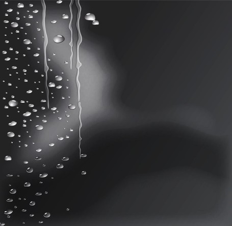 Crystal Clear Water Drops 04, Clip Arts.