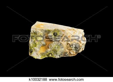 Pictures of wavelite crystal formation k10032188.