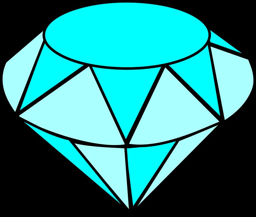 Free vector graphic: Diamond, Gem, Jewel, Crystal.