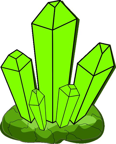 Green Crystal Clip Art at Clker.com.