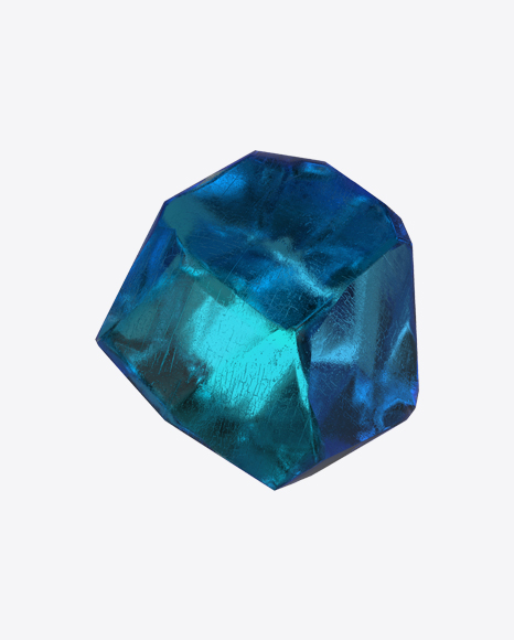 Download Blue Crystal Transparent PNG on Yellow Images 360°.