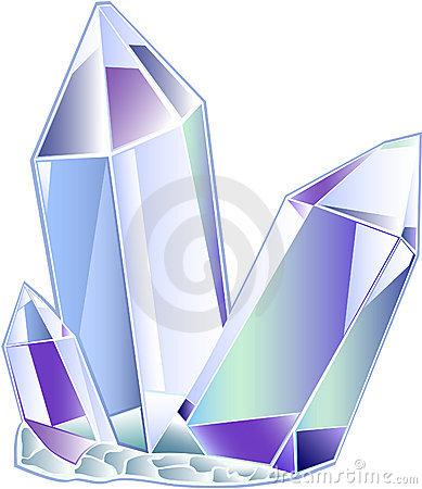Crystal Quartz Clipart.