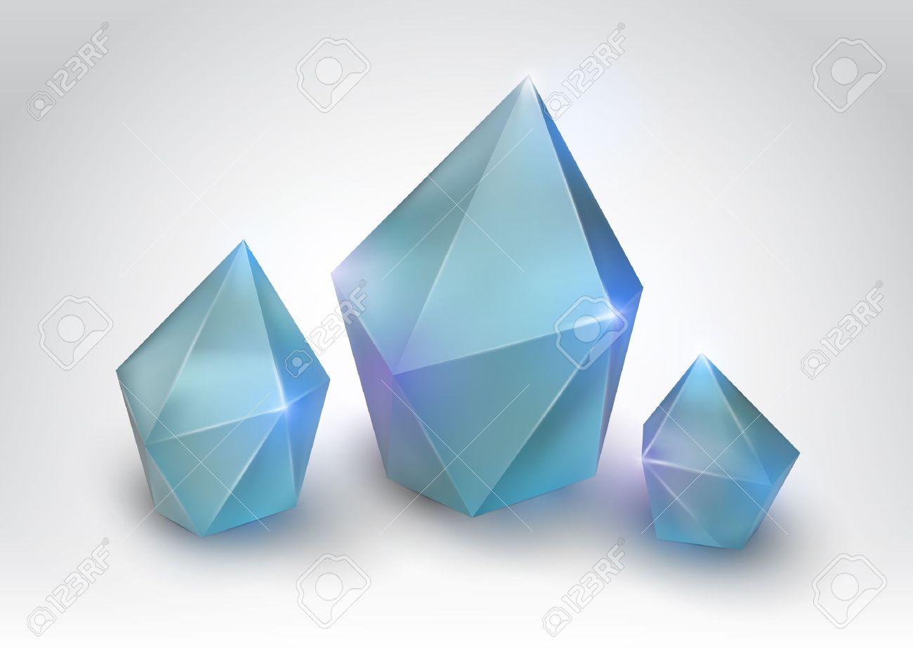 861 Quartz Crystal Stock Vector Illustration And Royalty Free.