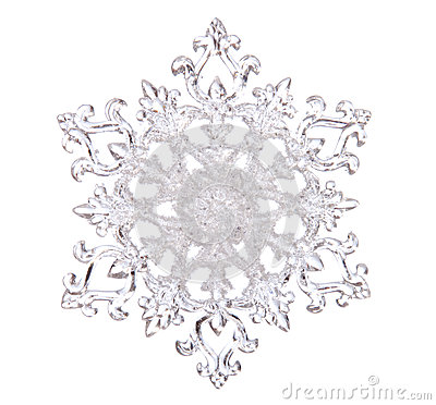 White Snowflake Clipart Clear Background.