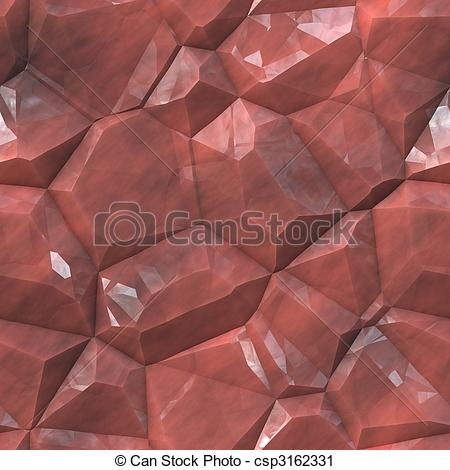 Clipart of Crystalline mineral facets texture.