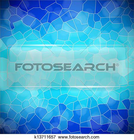 Clip Art of Crystallize background k13711657.