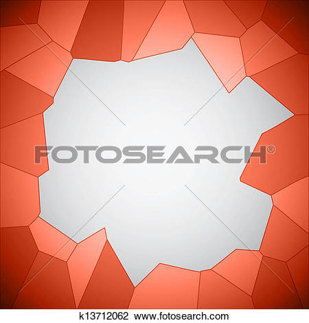 Clipart of Crystallize background k13712062.