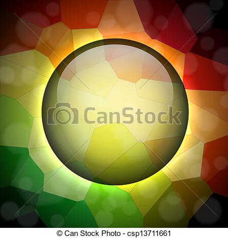 Clip Art Vector of Crystallize background.