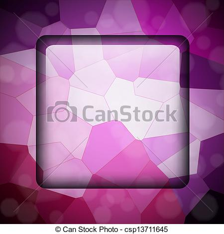 EPS Vector of Crystallize background.