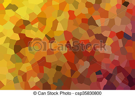 Stock Illustration of Colourful crystallize abstract background in.