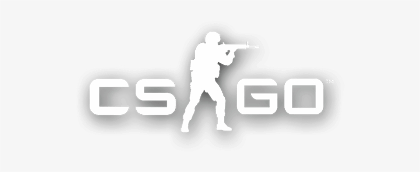 Csgo Logo Png Picture Black And White Download.