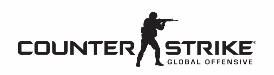 Counter Strike Global Offensive Logo Vector.