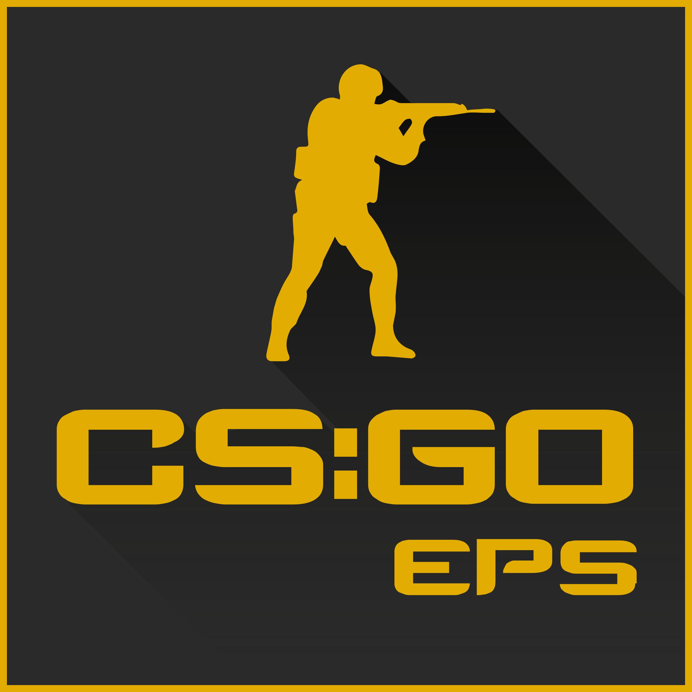 Counter Strike Global Offensive 3 Logo PNG Transparent & SVG Vector.
