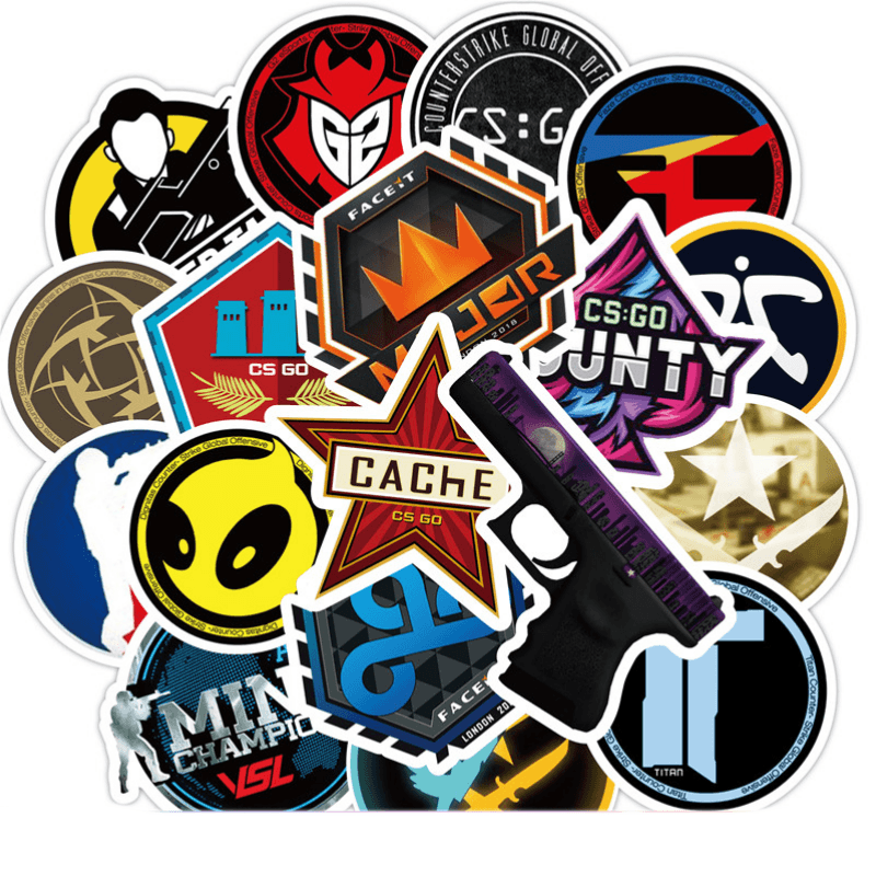 CS GO Game Stickers.