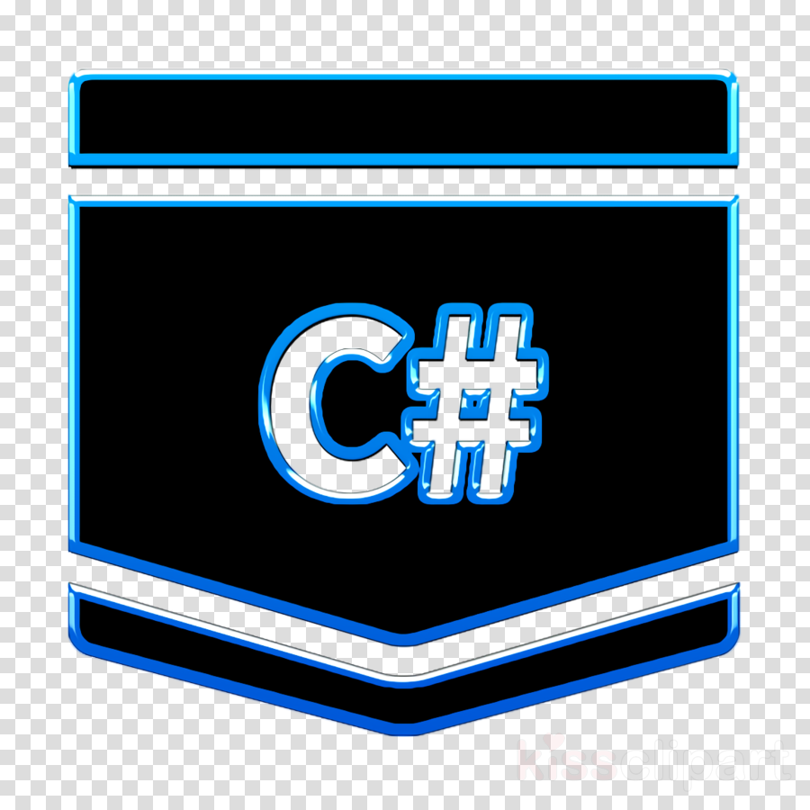 c sharp icon code icon code language icon clipart.