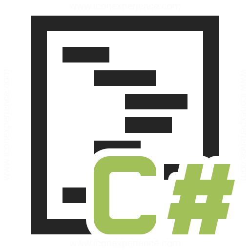 Code Csharp Icon.