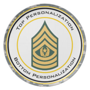 Military Rank Insignia Plates.