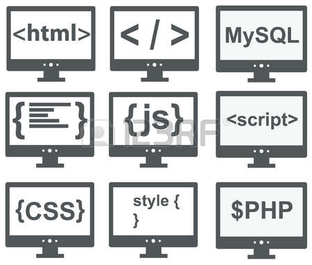 5,863 Programmer Computer Stock Vector Illustration And Royalty.