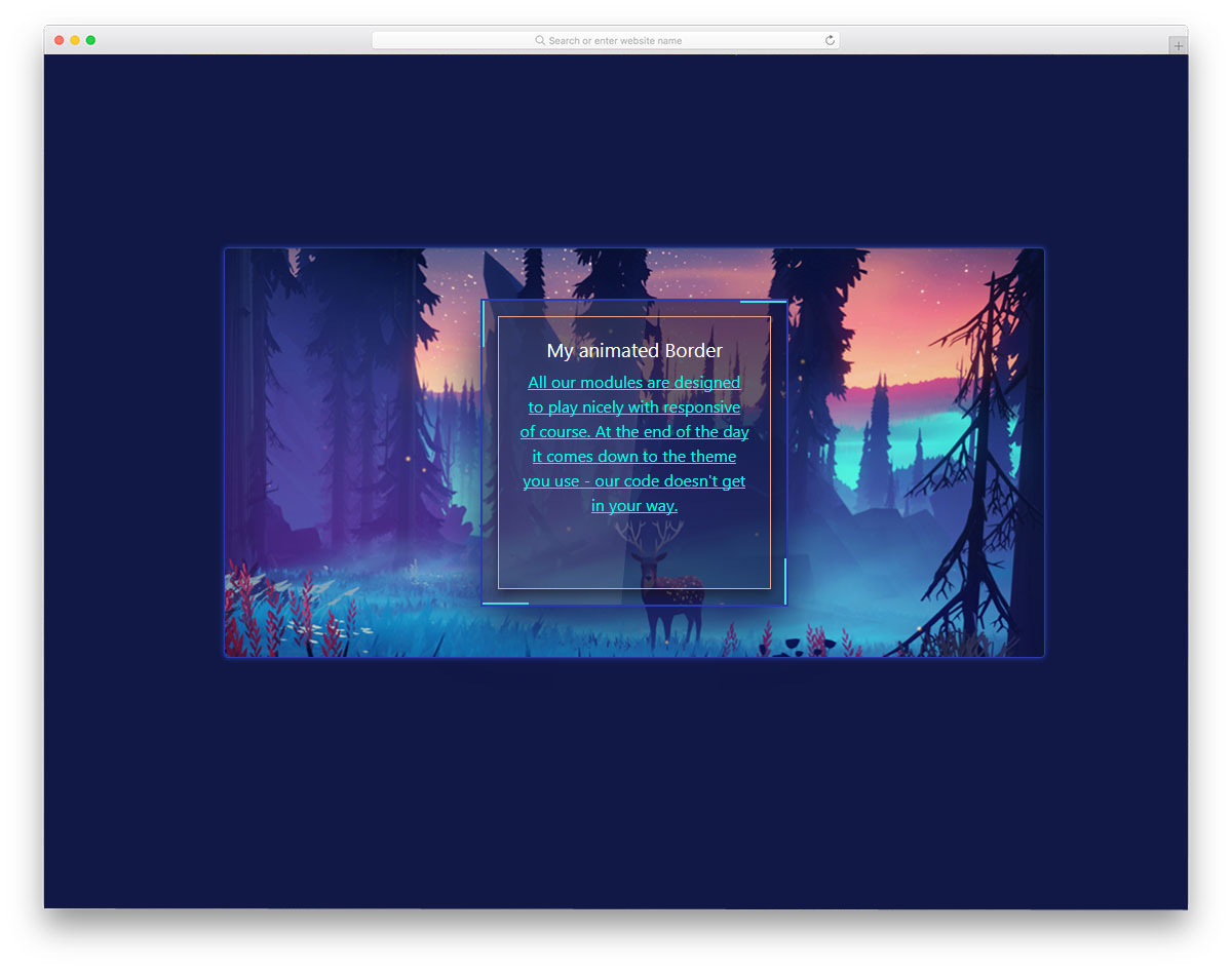 25 Contemporary Style CSS Border Animation Effects In 2019.
