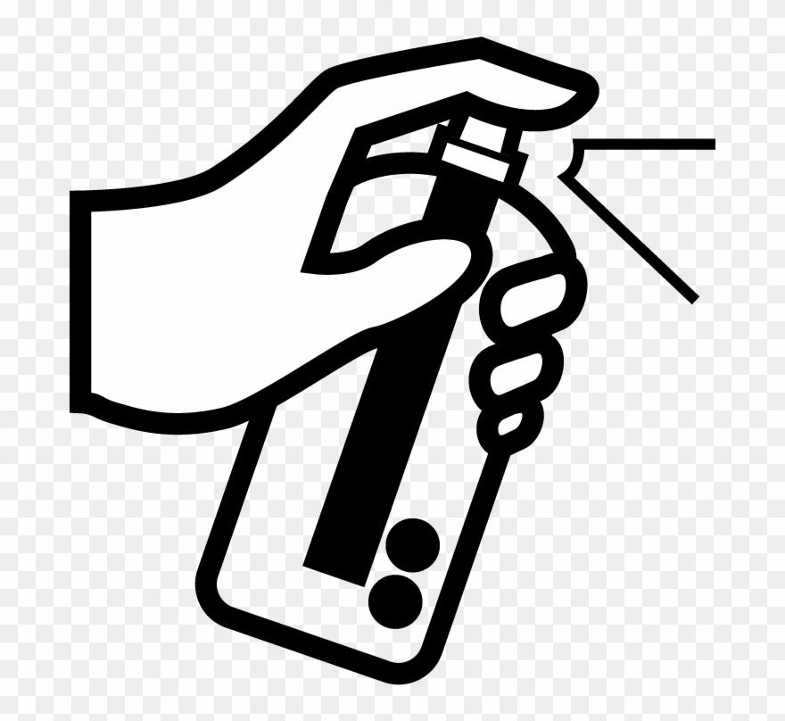 5) Spray Clipart (#1483621).