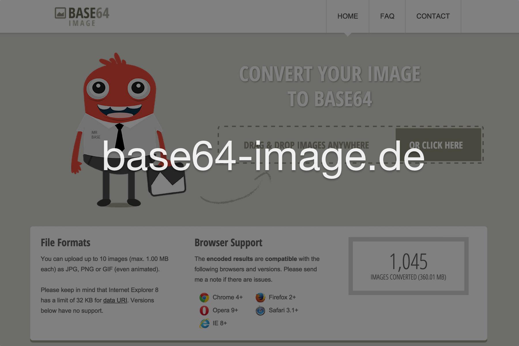 Base64 Image Encoder.