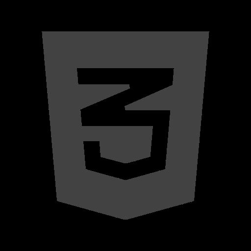 Css3 Icon Free of Social Media & Logos I Glyph.