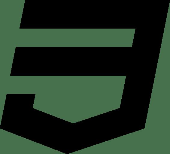 Css3 Logo transparent PNG.