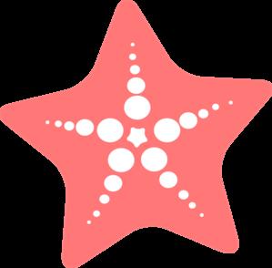 Starfish clipart 3.