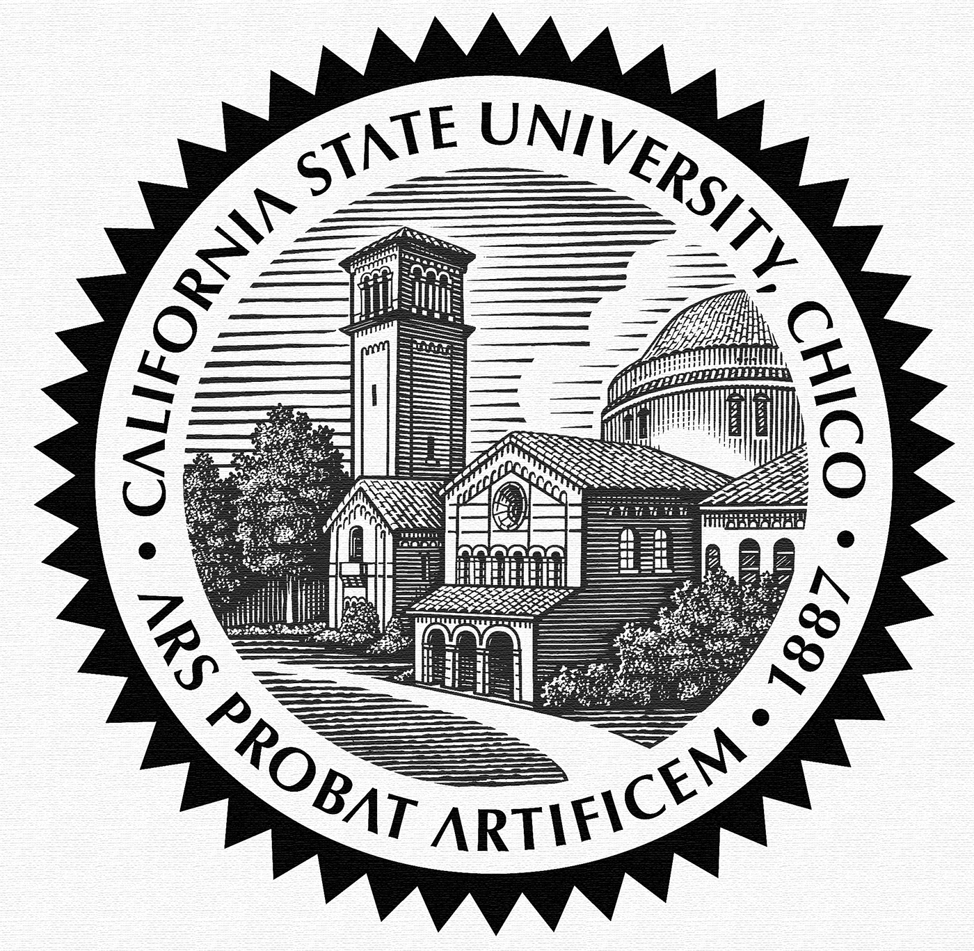 CSU Chico Seal Illustrated by Steven Noble on Behance.