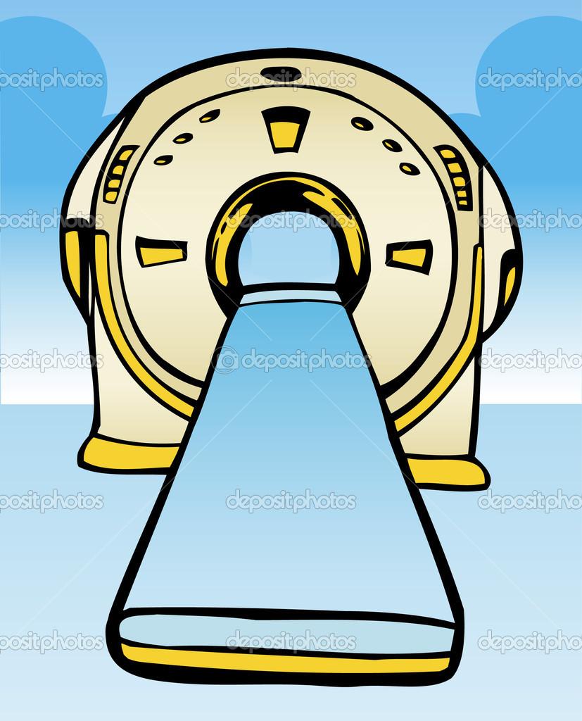 MRI / CT Machine — Stock Vector © cteconsulting #3989644.