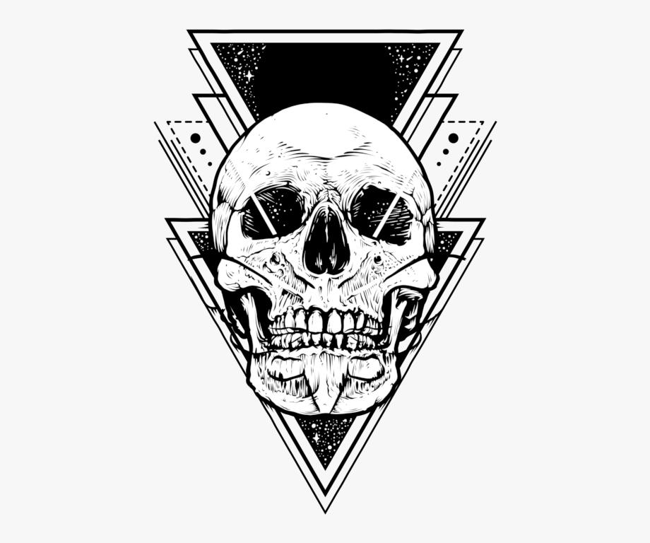 Tattoo Clipart Skull.