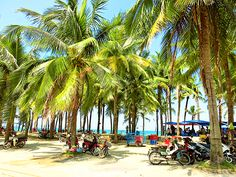 Cua Dai beach, Hoi An, Vietnam.