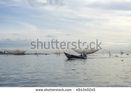 Woman Fishing Boat Stock Photos, Royalty.