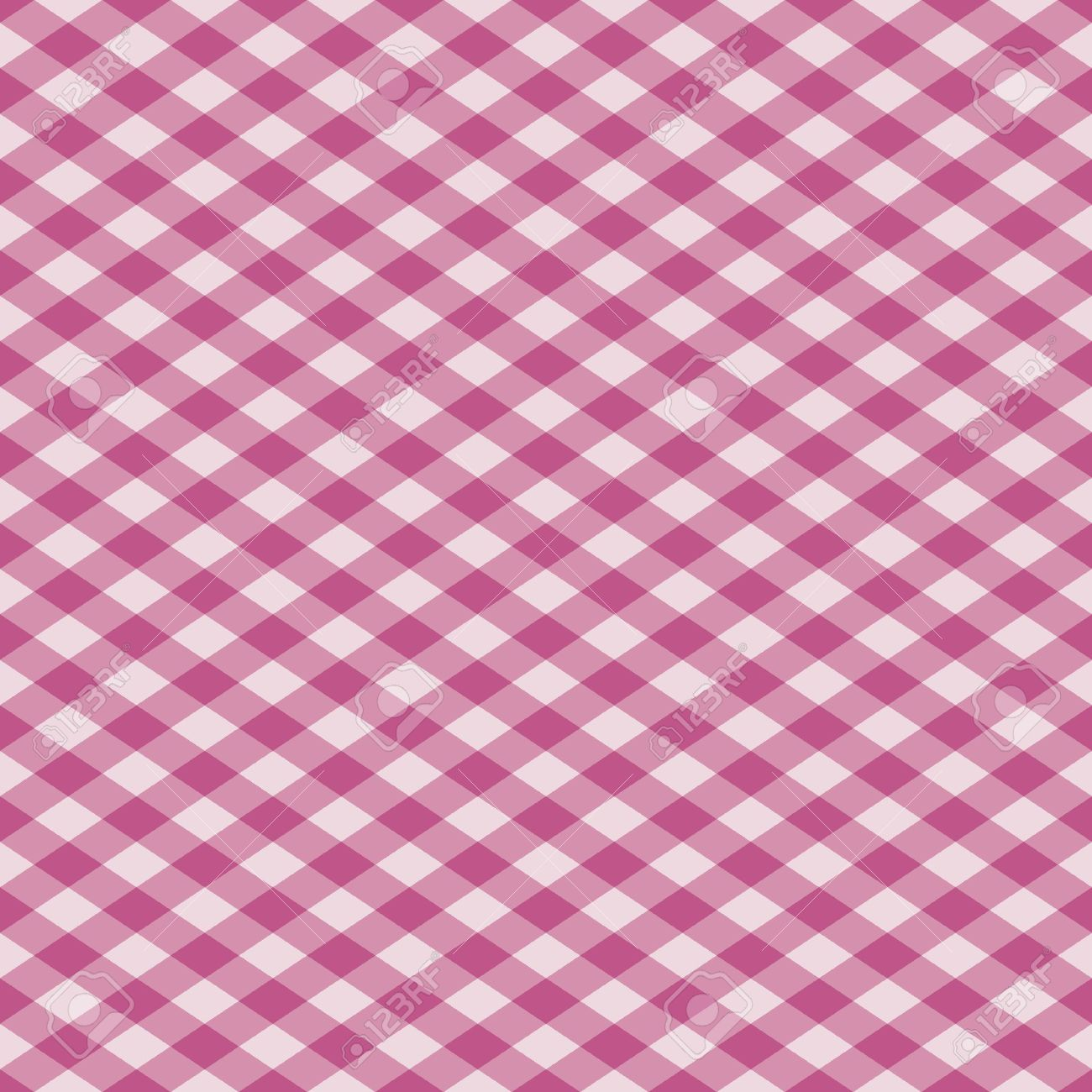 Vector Seamless Plaid Pattern In Pink. Royalty Free Cliparts.