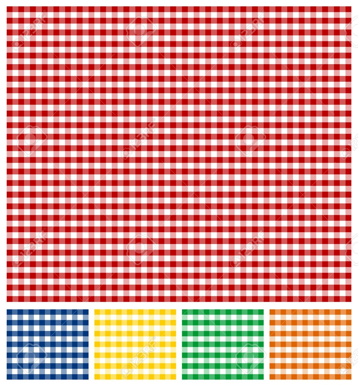 Free clipart red and green gingham plaid.
