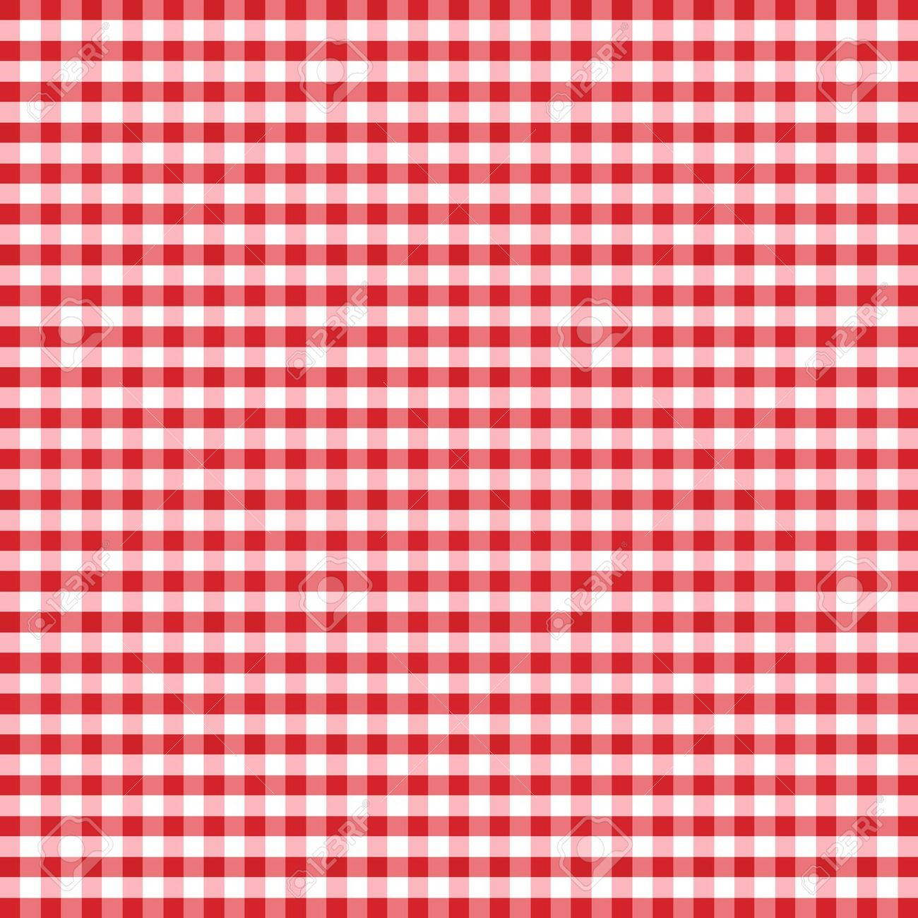 Red And White Checkered Rug: Cuadrille Clipart