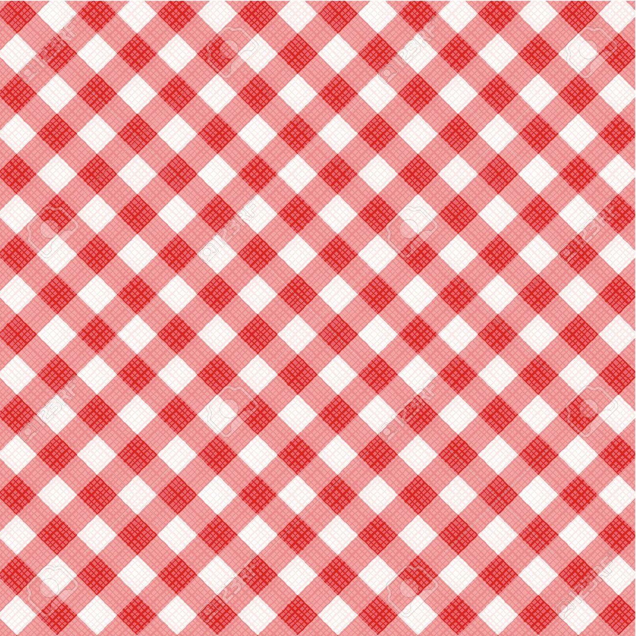 Free clipart red and green ginham plaid.