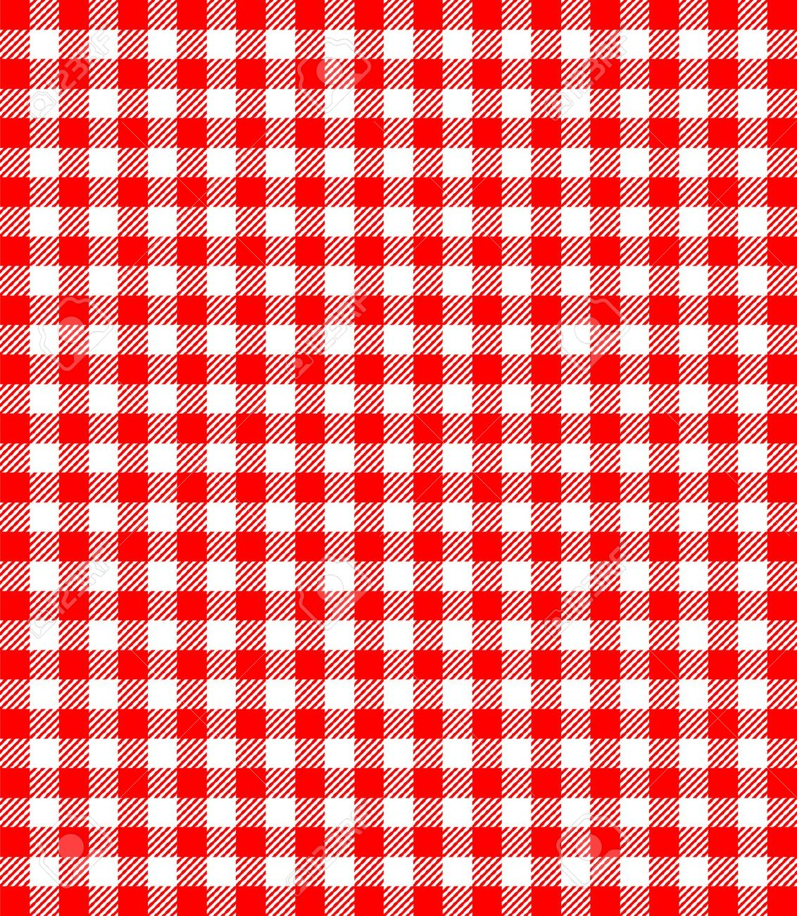 Red And White Popular Background Pattern For Picnics Royalty Free.