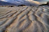 """Stock Image of """"Gypsum dunes of Las Arenales in Cuatro Cienegas."""