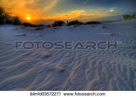 "Stock Photography of ""Gypsum dunes of Las Arenales in Cuatro."