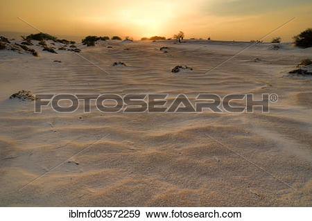 "Stock Photograph of ""Gypsum dunes of Las Arenales in Cuatro."
