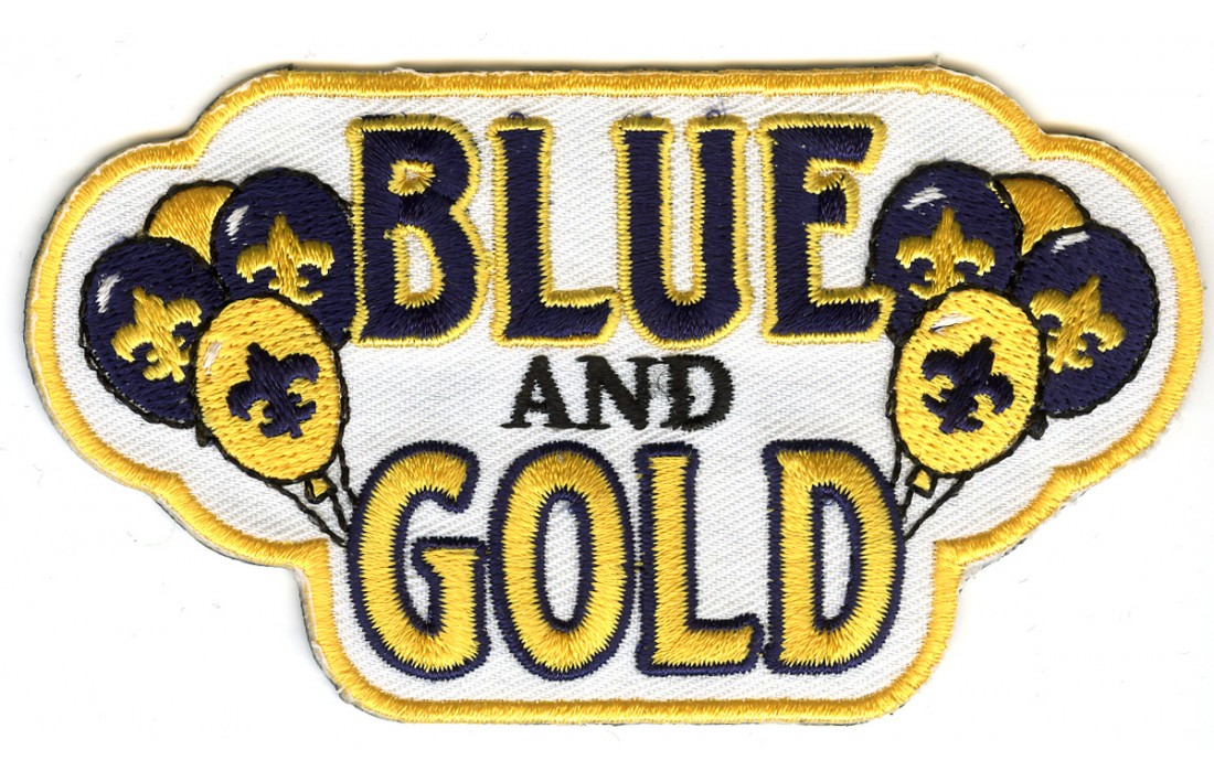 Blue And Gold Banquet Clipart.