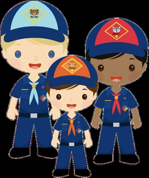 Cub Scouts Boy Pack47 Clipart.