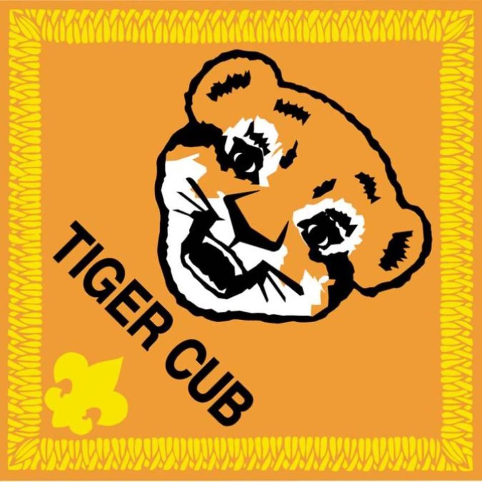 Tiger Cub Scout Clip Art N19 free image.