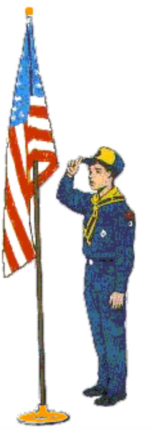photograph regarding Cub Scout Flag Ceremony Printable titled cub scout flag rite clipart 20 free of charge Cliparts Obtain