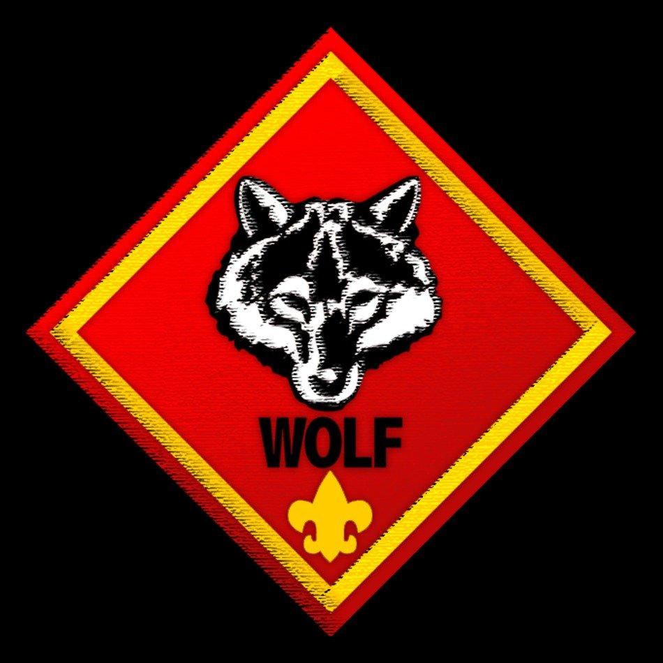 Cub Scout Wolf Logo N4 free image.