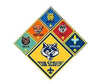 Cub Scout Rank Logos Bear Tiger Cub Bobcat Wolf Webelos.