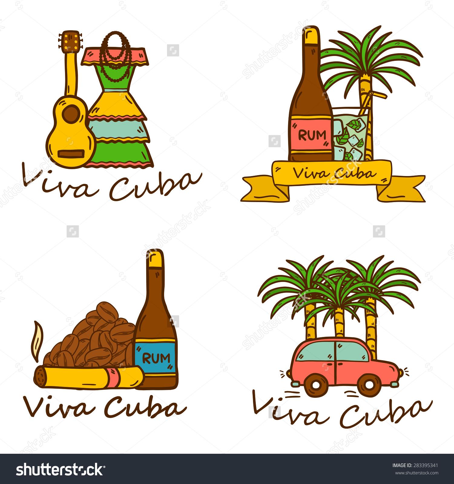Cuban food clipart.